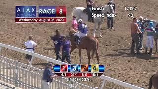 Ajax Downs August 5, 2020 Race 8