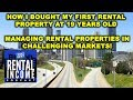 Rental Income Podcast: Buying my first rental property at 19 & Managing in challenging markets!