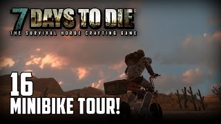 7 Days to Die [16] [Minibike Tour] [Double Team] [Let's Play Gameplay Deutsch German HD] thumbnail