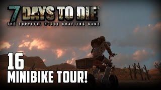 7 Days to Die [16] [Minibike Tour] [Double Team] [Let's Play Gameplay Deutsch German HD] thumbnail