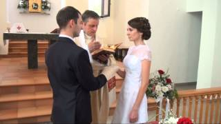 Клип католическое венчание