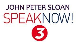 John Peter Sloan in Speak Now! 3/20