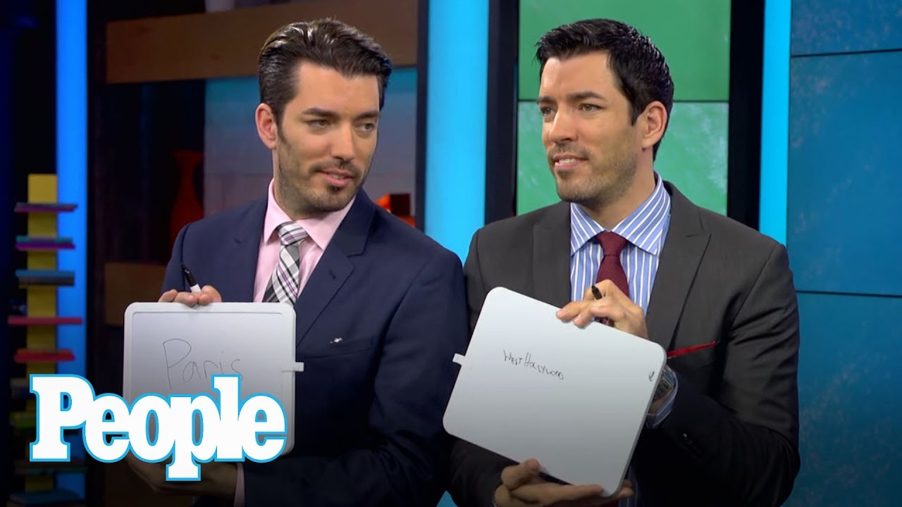 Property Brothers Drew And Jonathan Scott Quiz Each Other People