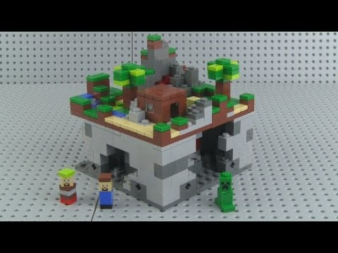 LEGO Minecraft 21102 The Forest Micro World set Review!