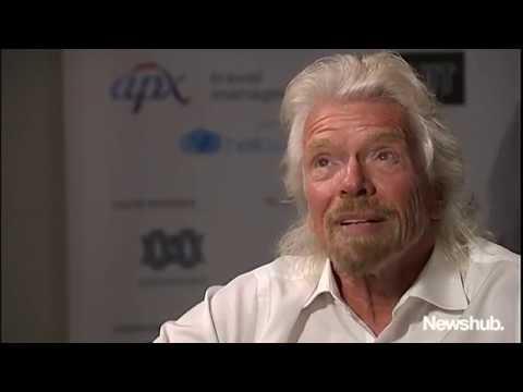 Sir Richard Branson calls Donald Trump 'an embarrassment for the world' | Newshub