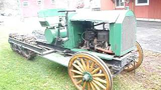 1917 Linn Tractor Number One part 5 walk around