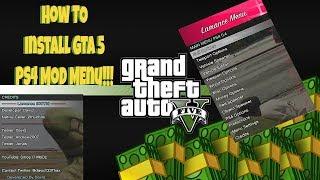 GTA 5 PS4 MOD MENU! HOW TO INSTALL! PS4 GTA 5 ONLINE MODDING SOON!