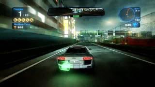 Gameplay de Blur sur PC