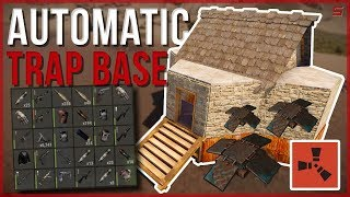 RUST | AUTOMATIC LANDMINE TRAP BASE! | Rust Trap Base Gameplay