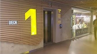 """4 Aufzüge Schindler PORT @""""Shoppingcenter Welle 7"""" Schanzenstrasse 5, 3008 Bern, Schweiz"""