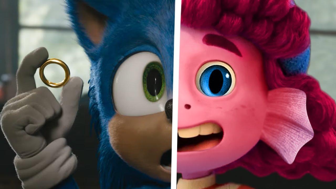 Sonic vs LUCA GIULIA Sea Monsters - Sonic The Hedgehog Movie Choose Favorite Design Both Characters
