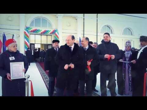 Торжественное открытие нового фирменного поезда «Эльбрус» сообщением Нальчик-Москва
