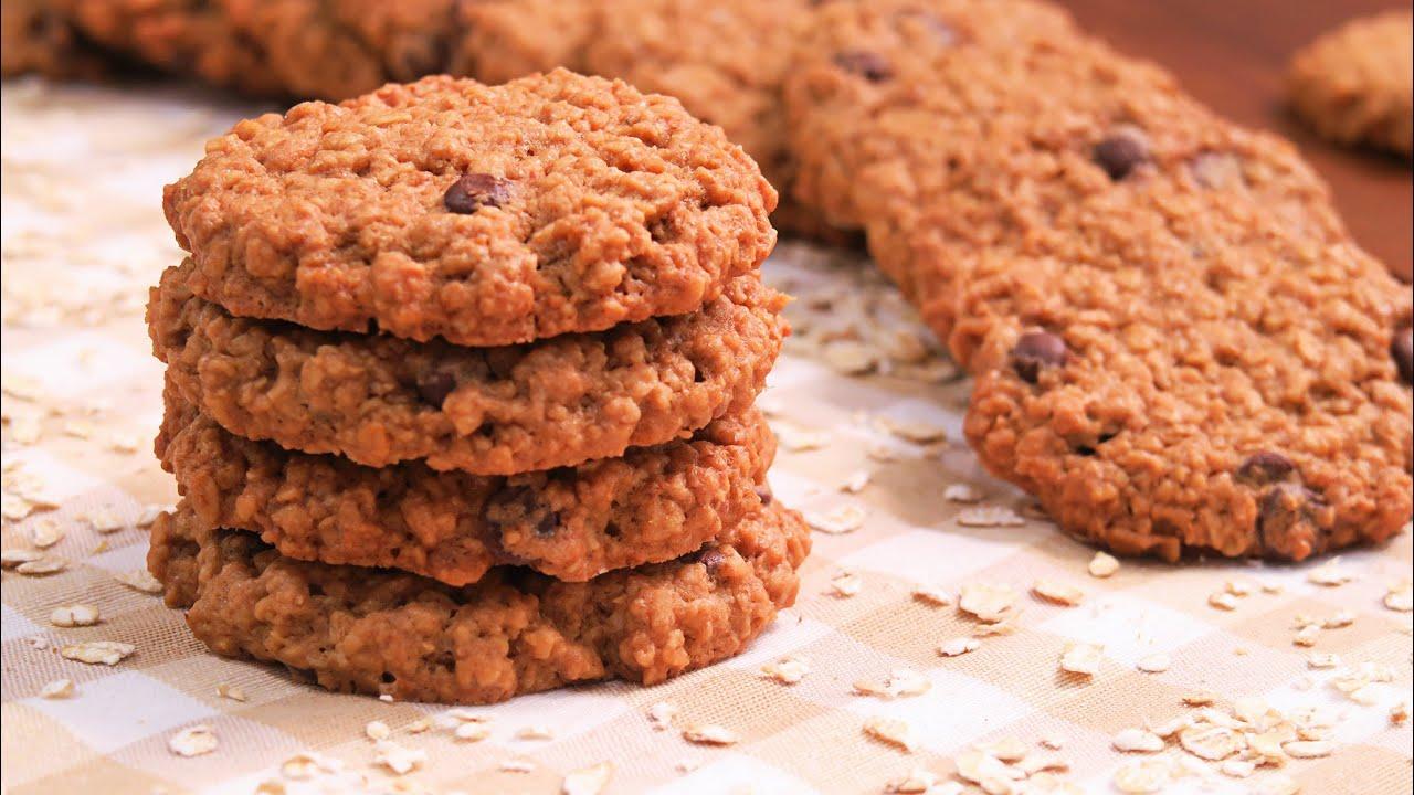 Resultado de imagen de galletas de avena y chocolate
