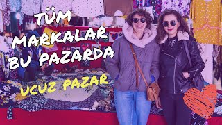 Zara, Bershka, Massimo Ayakkabılar 40 TL I Beylikdüzü Pazarını Gezdik I Ucuzluk Pazarı