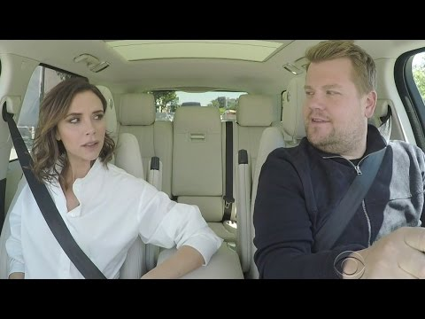 Victoria Beckham Channels Posh Spice in Carpool Karaoke During Hilarious Mannequin Reboot Parody