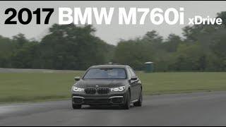 BMW M760i Hot Lap at VIR   Lightning Lap 2017   Car and Driver