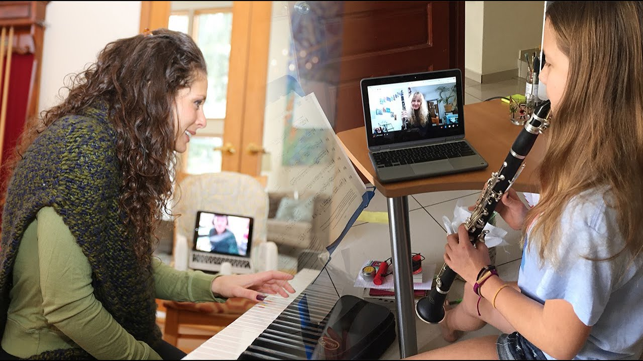 Skype music lessons online music school 'Music Lessons Anywhere' - YouTube