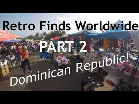 Retro Finds Worldwide Ep. 8 - Dominican Republic Game Huntin