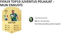 FIFA19 TOP10 Juventus pelaajat ratingennuste   FIFA19 Ultimate Team Suomi