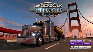 American Truck Simulator PC Gameplay 60fps 1080p