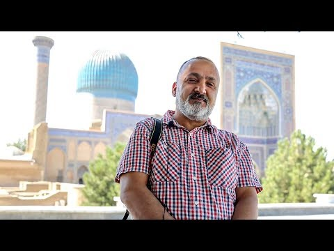 Mohammad Tamim Olime from Australia to Uzbekistan!