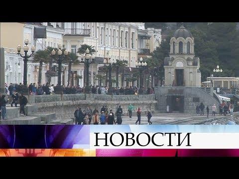 Представители «Национального общественного мониторинга» проверяют, как Крым готовится к выборам. - Смотреть видео онлайн