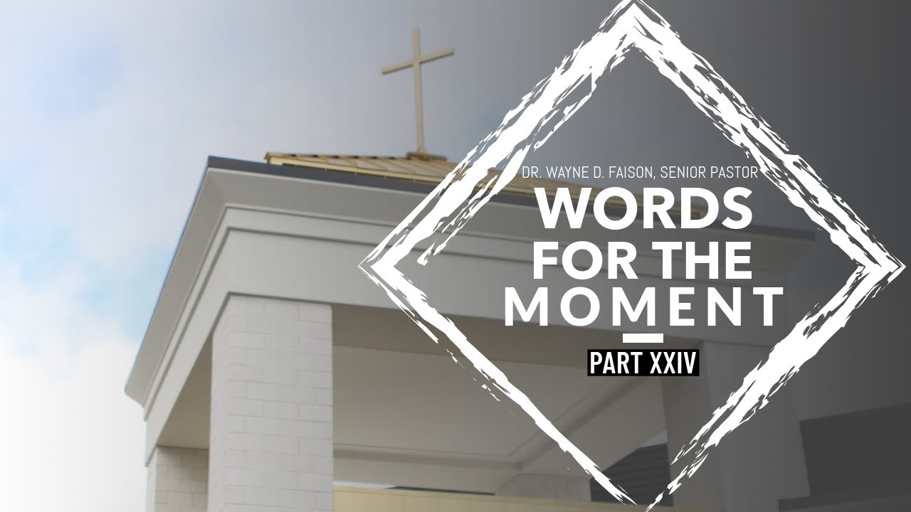 WORDS FOR THE MOMENT-XXIV//THE VOICE OF REASON