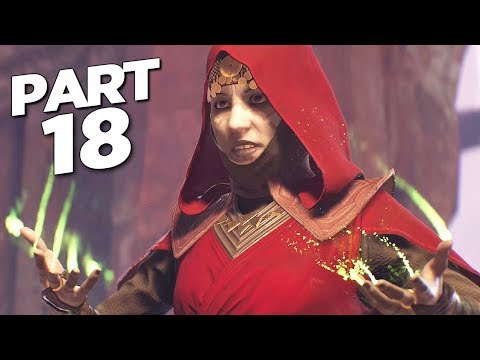 STAR WARS JEDI FALLEN ORDER Walkthrough Gameplay Part 18 - DATHOMIR (FULL GAME)