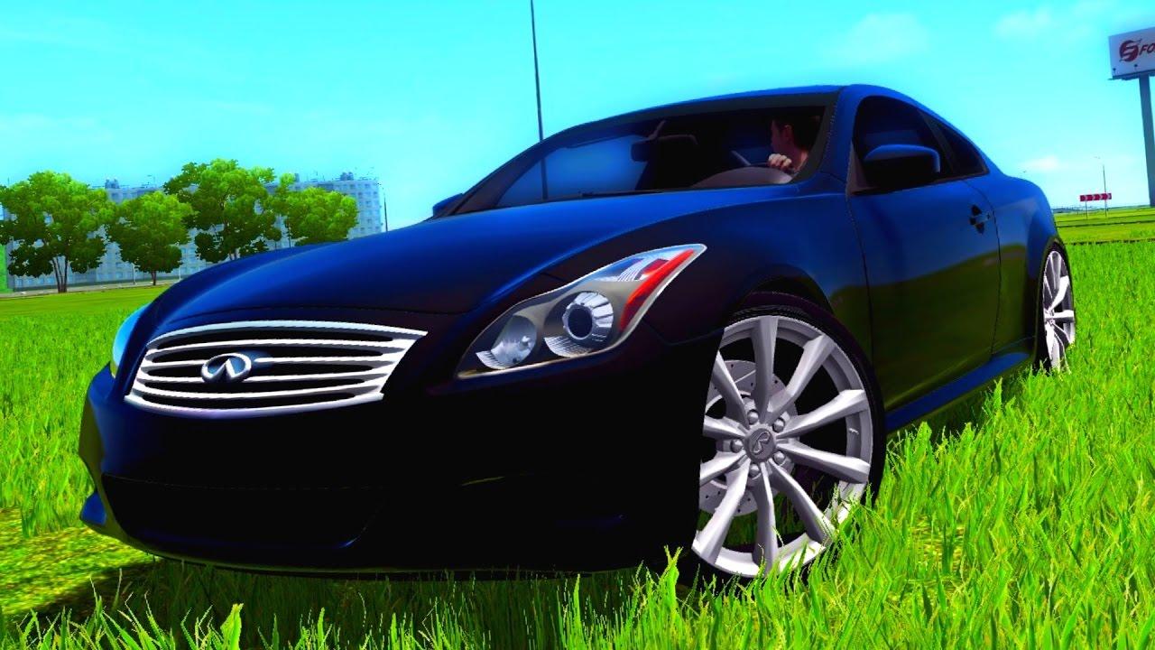 City Car Driving 1 5 3 Infiniti G37 G27 Hd 1080p 60fps