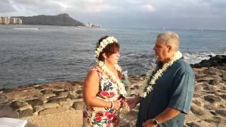 Our Magic Island wedding in Hawaii