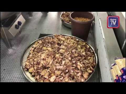 Bekalan makanan untuk pelarian Syria