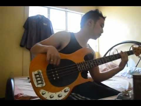 how to play something in the way on bass