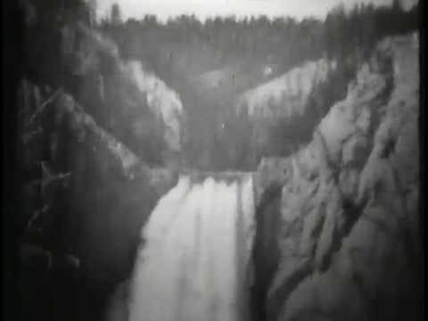 Lower Falls, Grand Canyon, Yellowstone Park