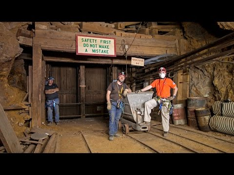 Exploring The Darwin Mines In Darwin California