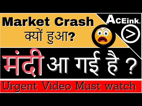 Reason for Share Market Crash today | 2020 Stock Market and Recession