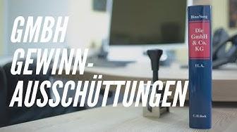 Steuer-Tipp: GmbH Gewinnausschüttungen