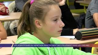 Yvelines | Les scientifiques du Généthon rencontrent des collégiens dans les Yvelines