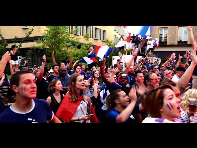 FRANCE CHAMPIONNE DU MONDE - retour en images France - Coratie à Metz