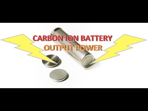 Carbon ion Battery - Output Power