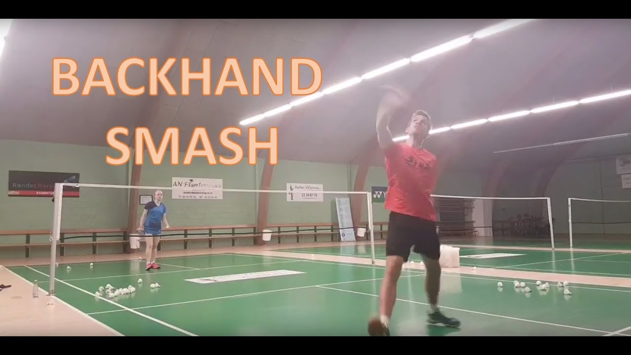 Backhand Serve