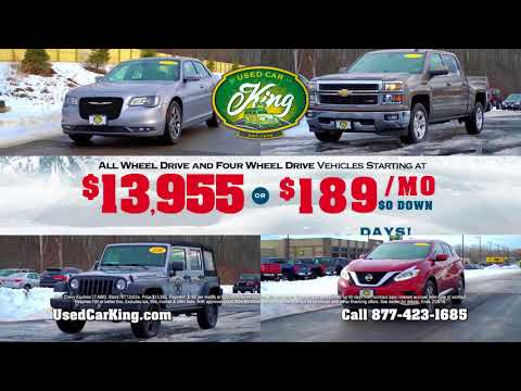 AWD & 4WD Specials | Used Car King