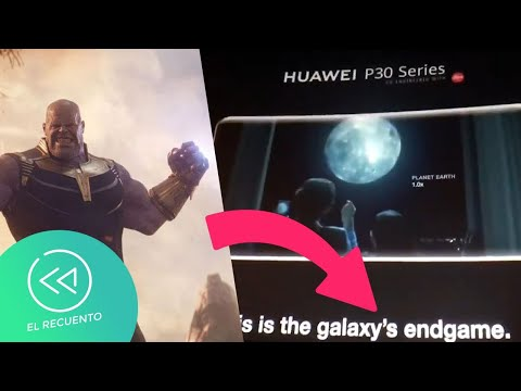 Huawei trolea a Samsung en Avengers Endgame | El Recuento