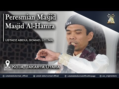 live-streaming---tausiah-dalam-rangka-peresmian-masjid-al-hamra,-koja,-jakarta-utara.