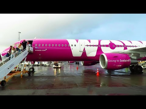 TRIP REPORT | WOW Air (Economy) | Berlin SXF to Reykjavik KE