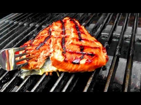 How to Grill Glazed Salmon
