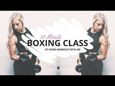 Box with Me I 20 MIN Punch Class