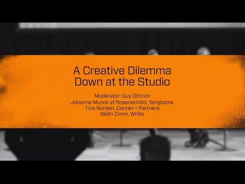 Stockholm Design Talks: A Creative Dilemma Down at the Studio