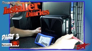 A Pioneer 4 channel Amp finish off the Ford Fusion Installer Diaries 190 part 3