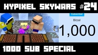 [1000 SUB SPECIAL] Hypixel Skywars #24 | 13 Minutes Of Random Moments