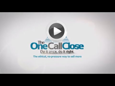 Sell more solar using the one call close. Why I use it and you can too!